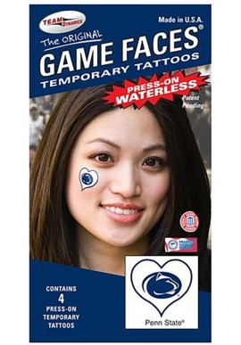 Waterless Peel & Stick Logo Heart Temporary Tattoo