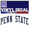 SDS Design Penn State Decal