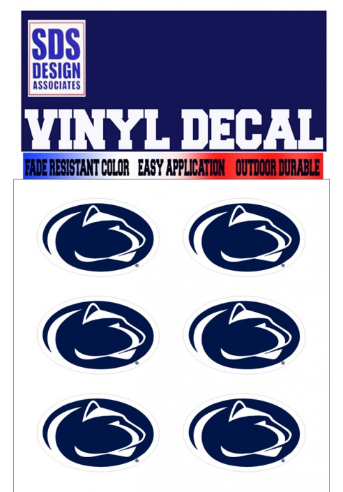 SDS Design Penn State Decal 6 Pack