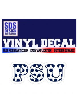SDS Design PSU Decal