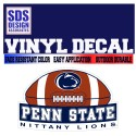 SDS Design Football Decal