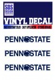SDS Design Penn State Logo Decal