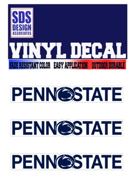 SDS Design Penn State Logo DECALS