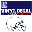 SDS Design Helmet Decal
