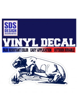 SDS Design Lion Statue DECAL