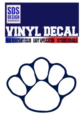 SDS Design 5 Toe Paw Decal