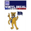 SDS Design Mascot with Flag Decal
