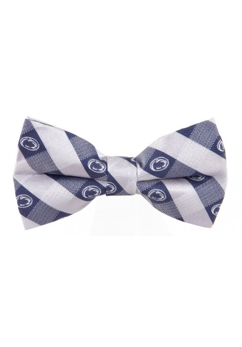 Eagles Wings 2363 Logo Plaid Bow Tie