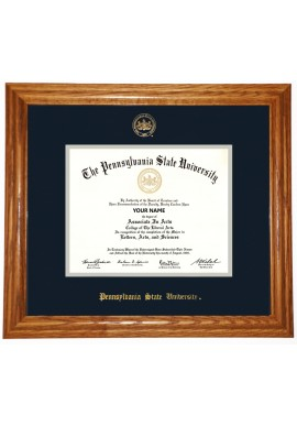 Collegiate Memories Oak Traditional Diploma Frame