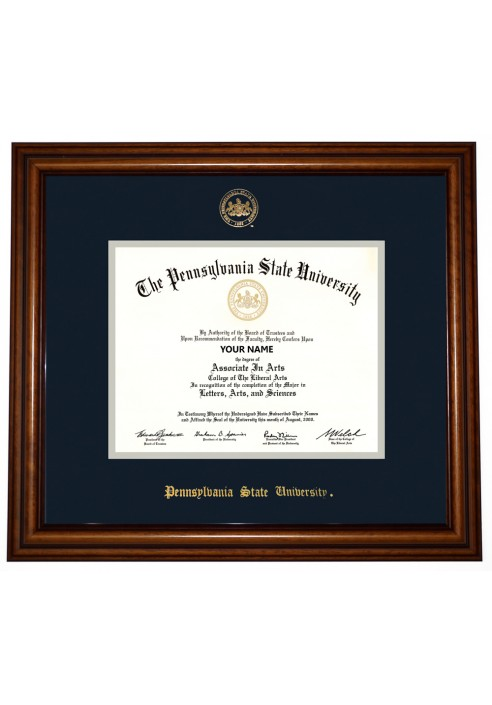 Collegiate Memories Walnut Traditional Diploma Frame