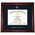 Collegiate Memories Cherry Traditional Diploma Frame