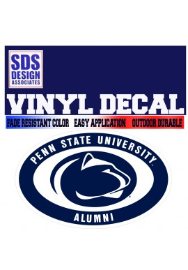 SDS Design Oval Decal