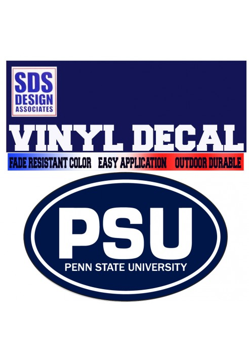 SDS Design PSU Oval Decal
