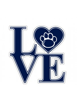 SDS Design LOVE Decal