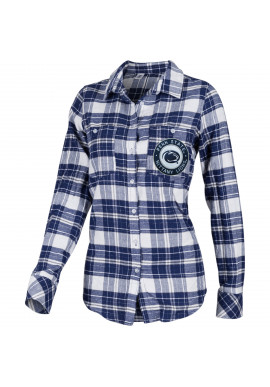 ZooZatZ Logo Plaid Flannel Shirt-Women's SALE