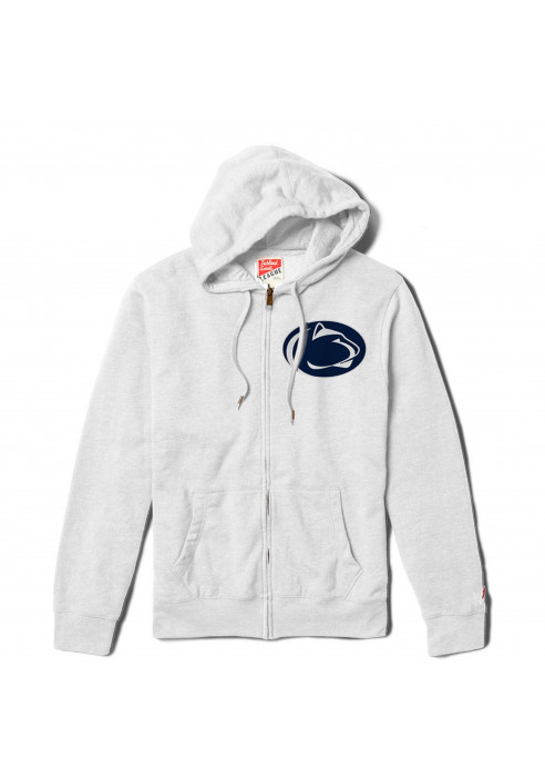 League Men's Zip Up Nittany Lions Hoodie
