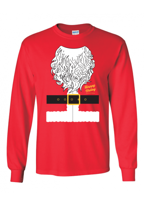 Ugly Sweater Designed Santa Tee - Men's
