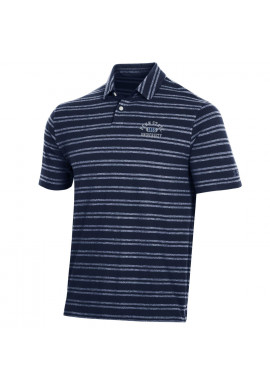 Under Armour Penn State University 1855 Striped Polo - Men's