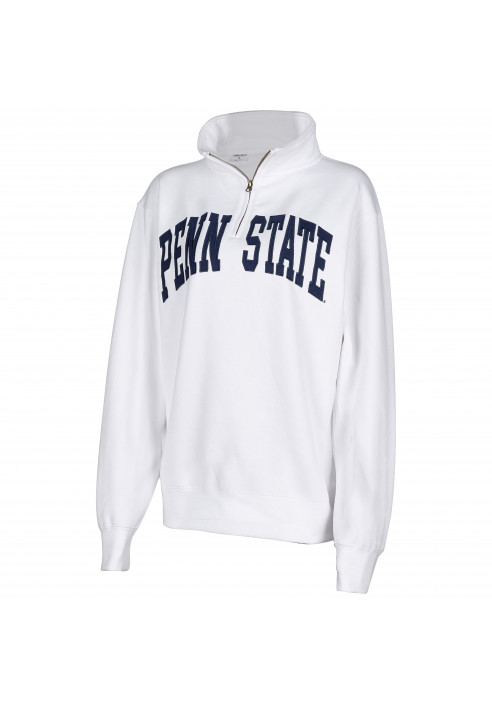 ZooZatZ Penn State Applique 1/4 Zip - Women's