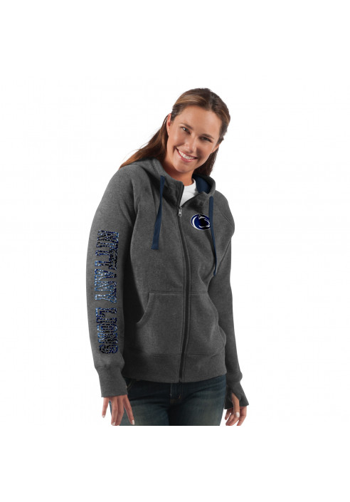 GIII Logo Sequin Full Zip Hoodie - Women's SALE