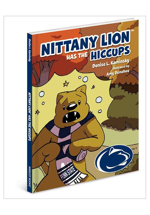Nittany Lion Has the Hiccups