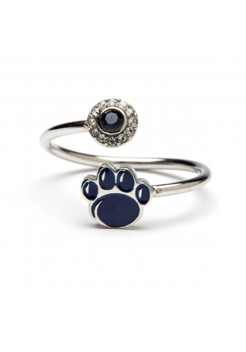 Stone Armory Penn State Paw Adjustable Ring