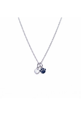Stone Armory Penn State Paw Necklace