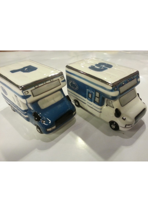 Radko Tailgating Salt and Pepper Shakers