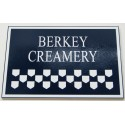 Wood Sign - Berkey Creamery