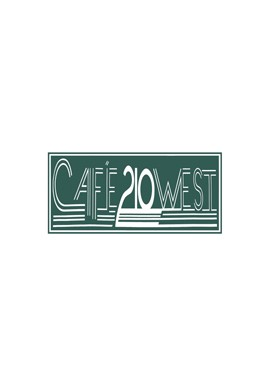 Wood Sign - Cafe 210 West (Outlines)