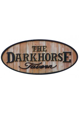 Wood Sign - Darkhorse (Wood Slats)