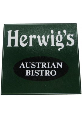 Wood Sign - Herwig's
