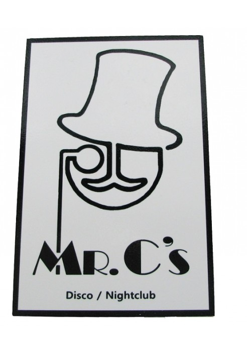 Wood Sign - Mr. C's