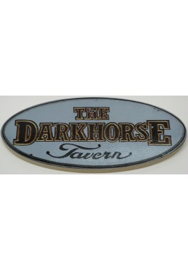 Wood Sign -The Darkhorse