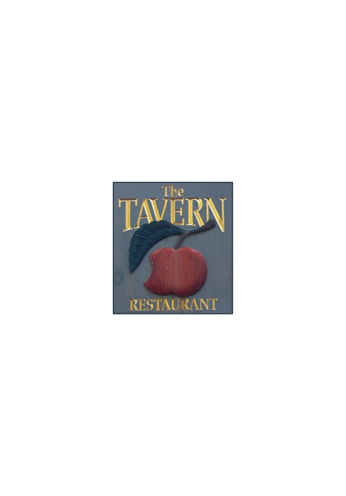 Wood Sign - The Tavern Restaurant