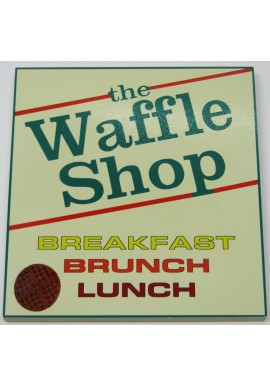 Wood Sign - The Waffle Shop