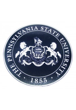 Wood Sign - Penn State University Seal