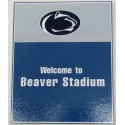 Wood Sign - Welcome to Beaver Stadium