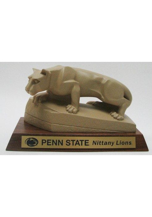 Desk Lion Statue with Base