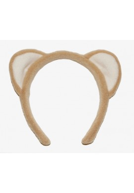 Nittany Lion Ears Headband Brown