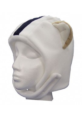 Fleece Helmet Hat Velcro