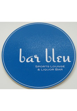 Awesome Wood Sign Bar Bleu