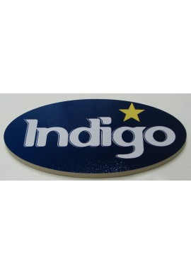 Awesome Wood Sign Indigo