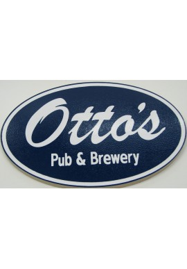 Awesome Wood Sign Otto's