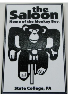 Awesome Wood Sign The Saloon Monkey Bar
