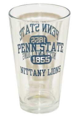 Penn State Pint Glass PS NL 1855