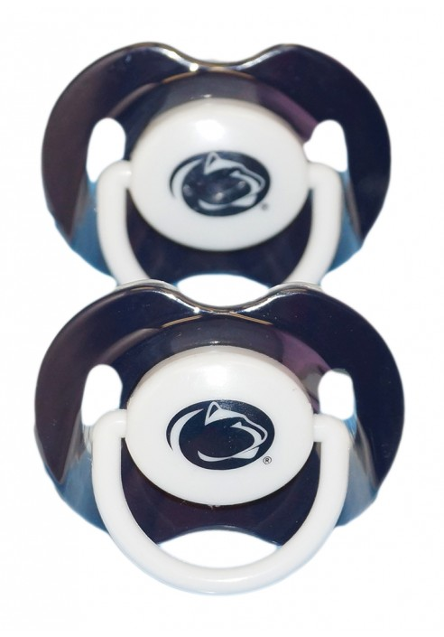 Baby Fanatic Penn State Orthodontic Pacifier 2 Pack Set