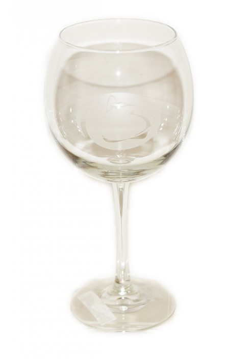 Penn State Red Wine Glass
