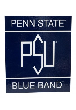 Wood Sign - Blue Band