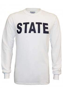"""State"" Long Sleeve Tee -Men's"